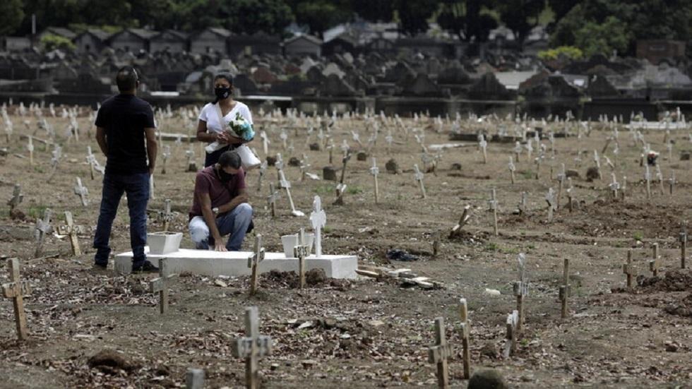 البرازيل تسجل 43209 إصابات و664 وفاة بفيروس كورونا
