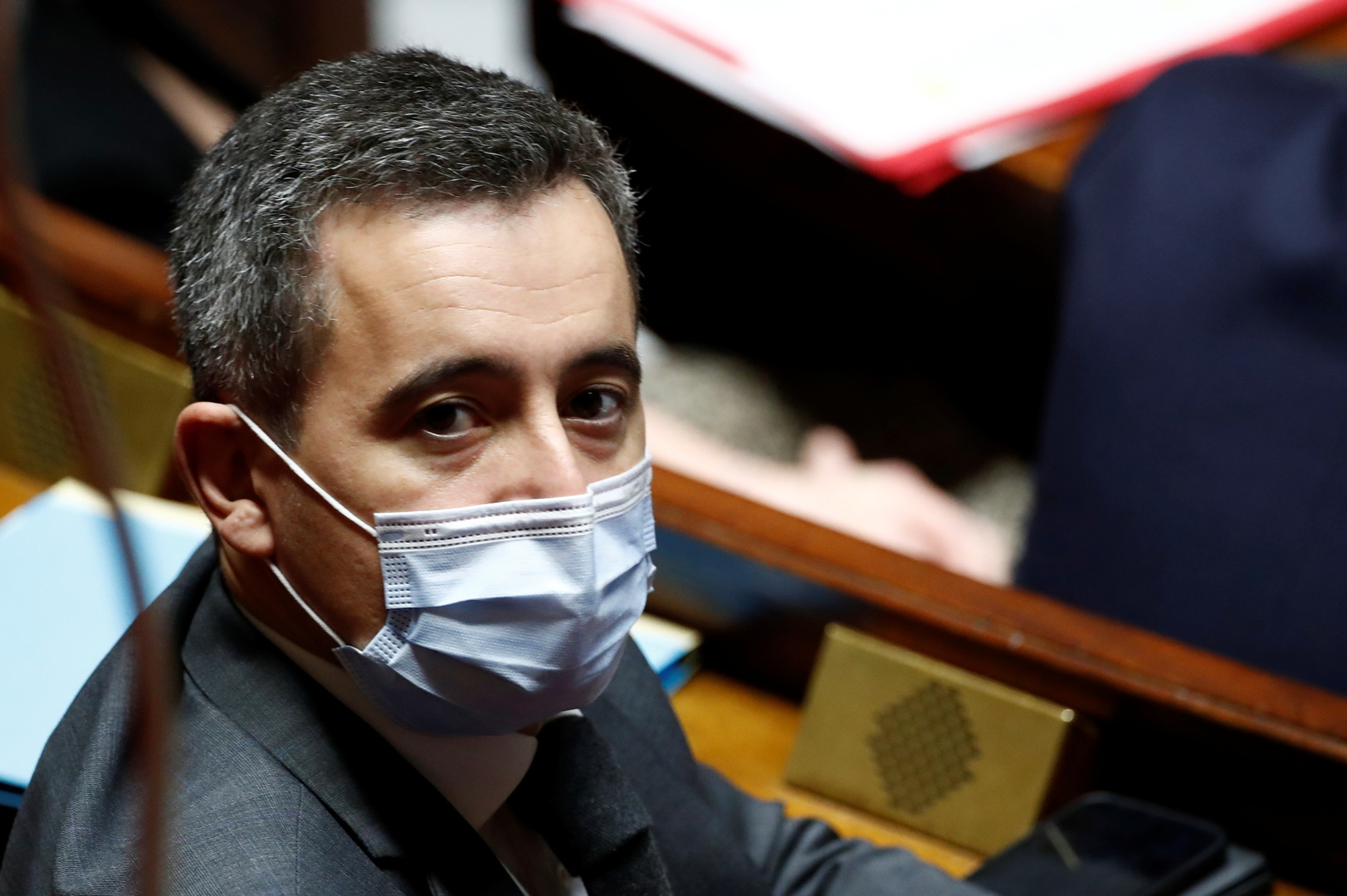 وزير الداخلية الفرنسي جيرالد دارمانين