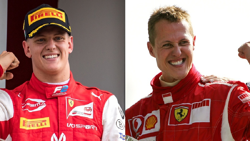The son of legend Michael Schumacher won the Formula 2 World Championship (video and photo)