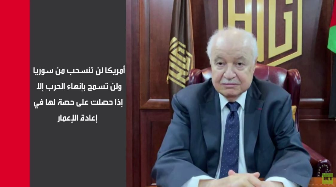 أبو غزالة: المنطقة العربية أمام فرصة تاريخية بسبب إعادة الإعمار
