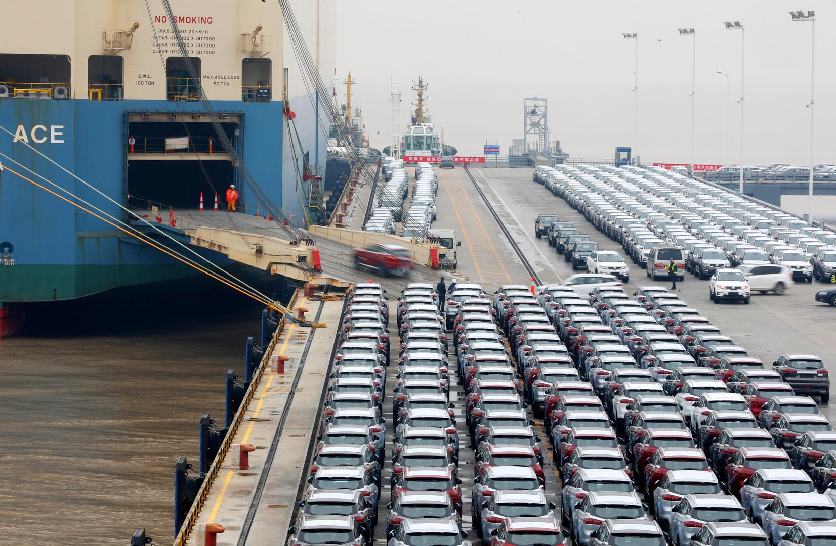 نمو صادرات الصين رغم أزمة كورونا