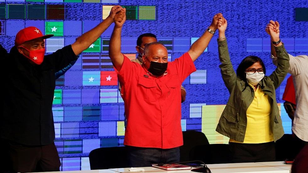 فوز تحالف مادورو في الانتخابات البرلمانية في فنزويلا