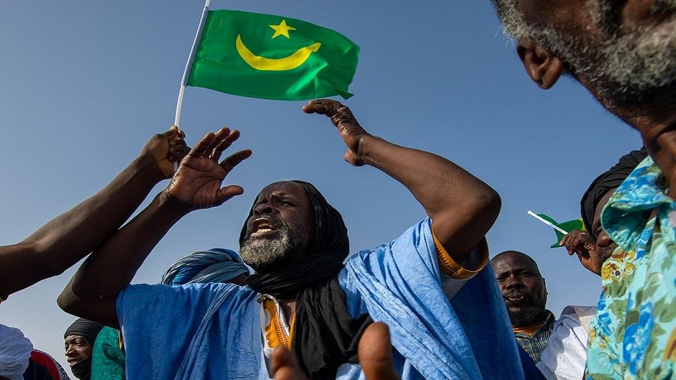 مظاهرة مناهضة للعبودية في موريتانيا (صورة أرشيفية، عام 2014)
