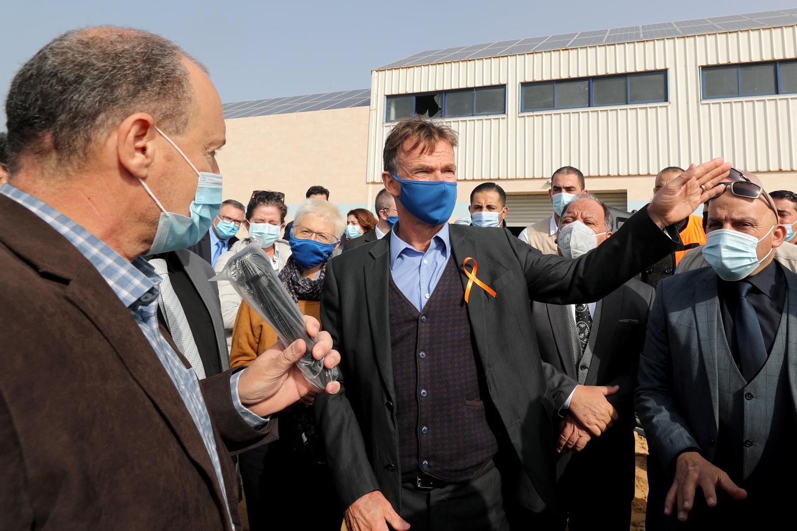 وفد من رؤساء بعثات الاتحاد الأوروبي يزور قطاع غزة