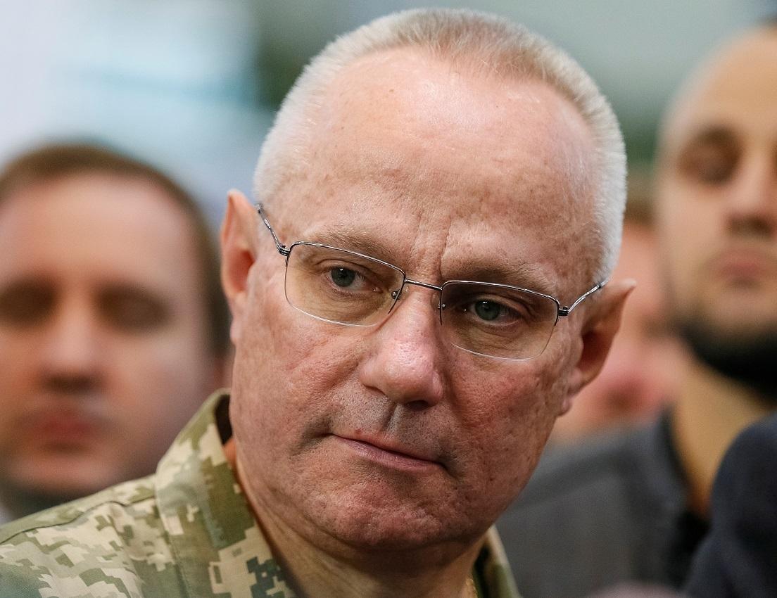 القائد العام للقوات المسلحة الأوكرانية، روسلان خومتشاك