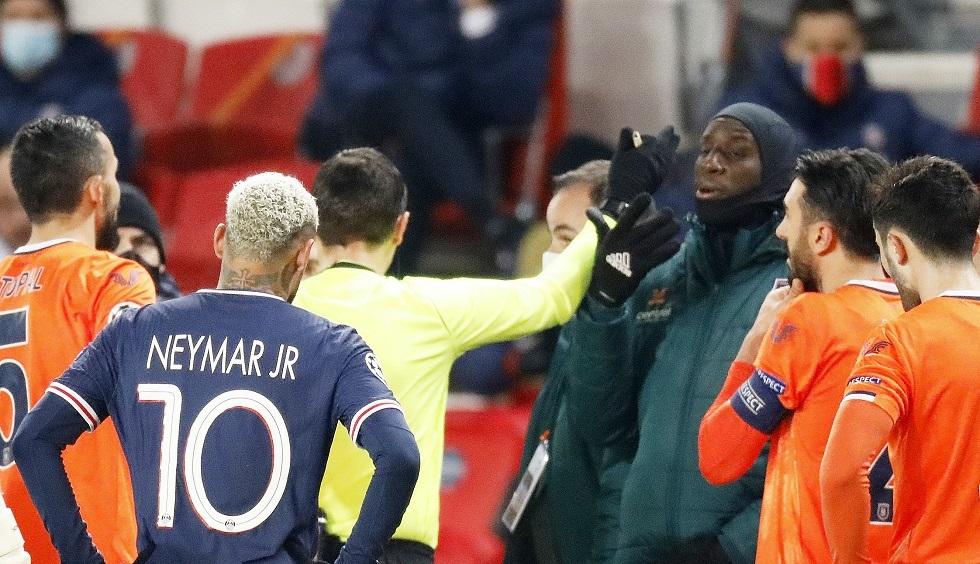 إساءة للعنصرية .. تعليق مباراة باريس سان جيرمان والباسكي