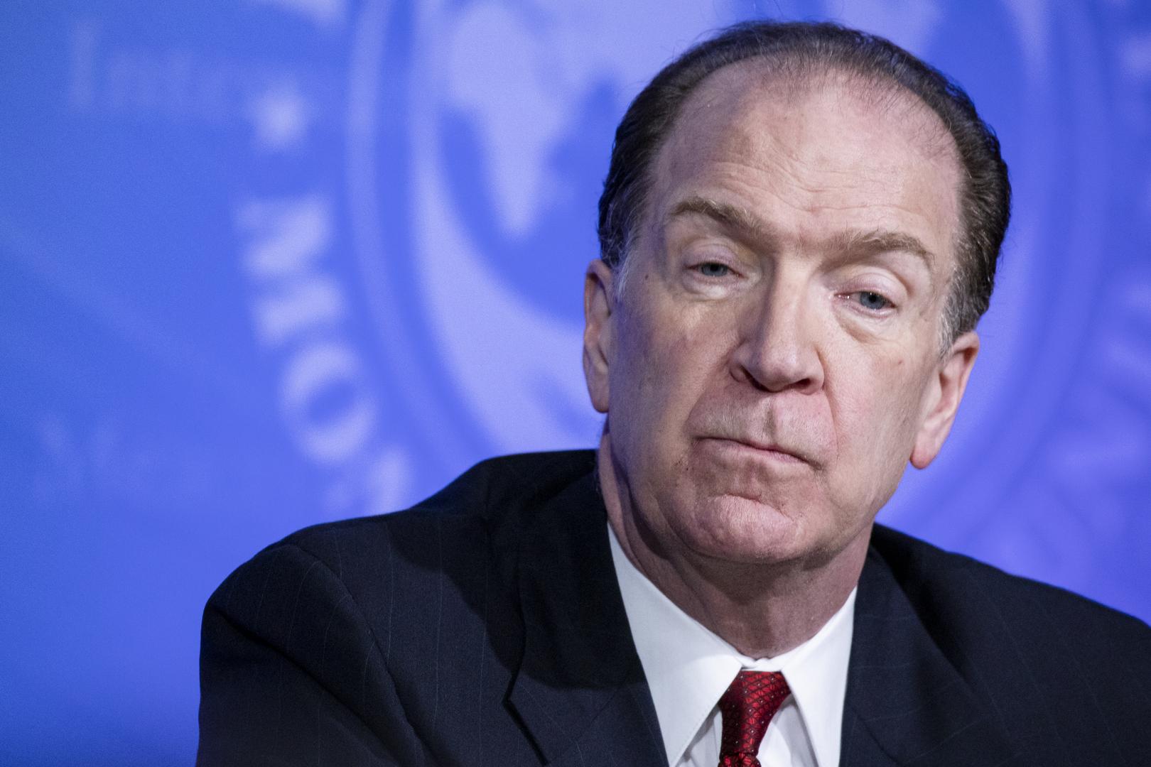 رئيس البنك الدولي يحدد موعدا للتعافي الاقتصادي من كورونا