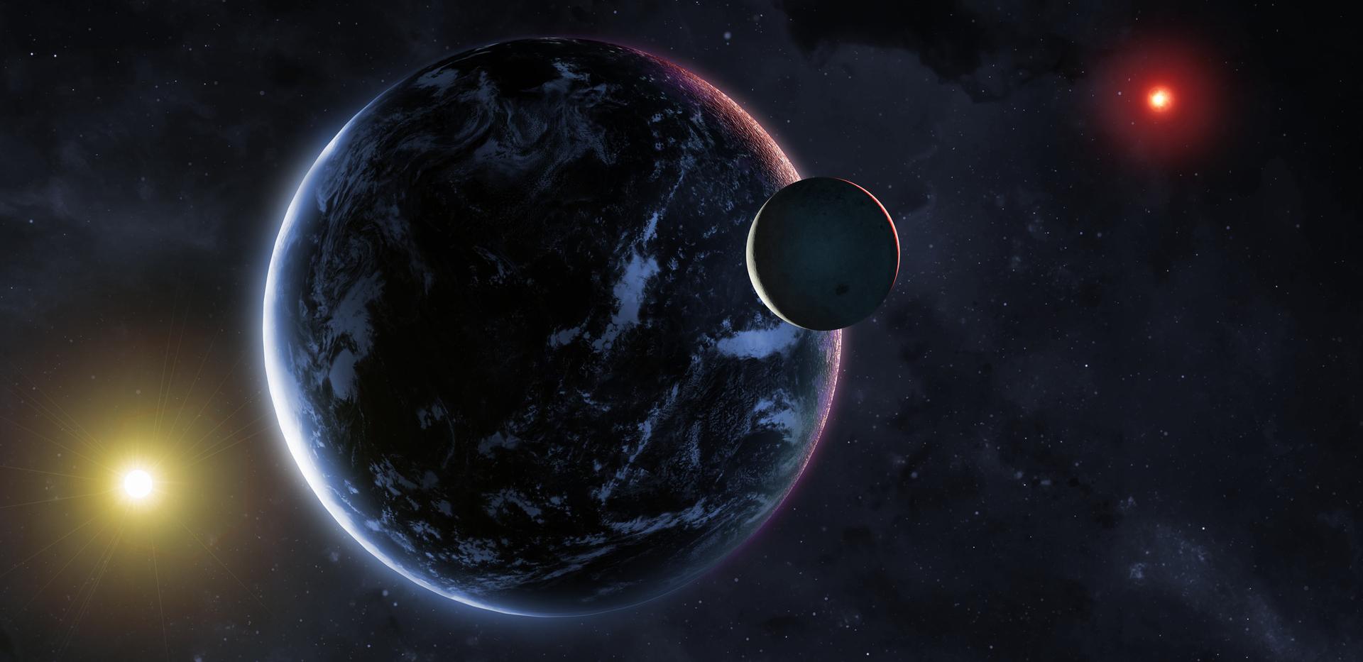 الأرض أمضت 500 مليون سنة من