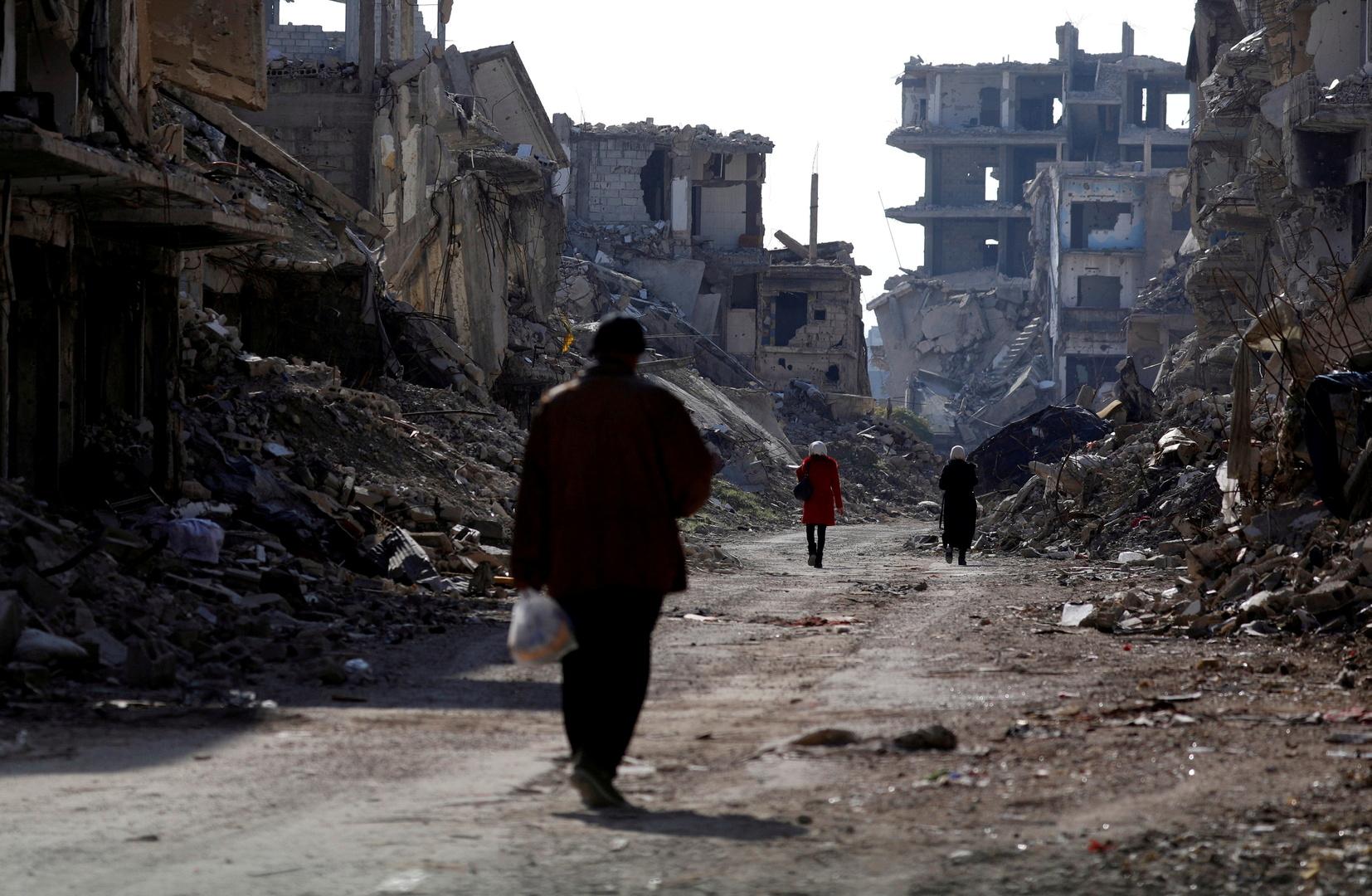 أ ف ب: حصيلة ضحايا النزاع السوري 387 ألف شخص في 9 سنوات