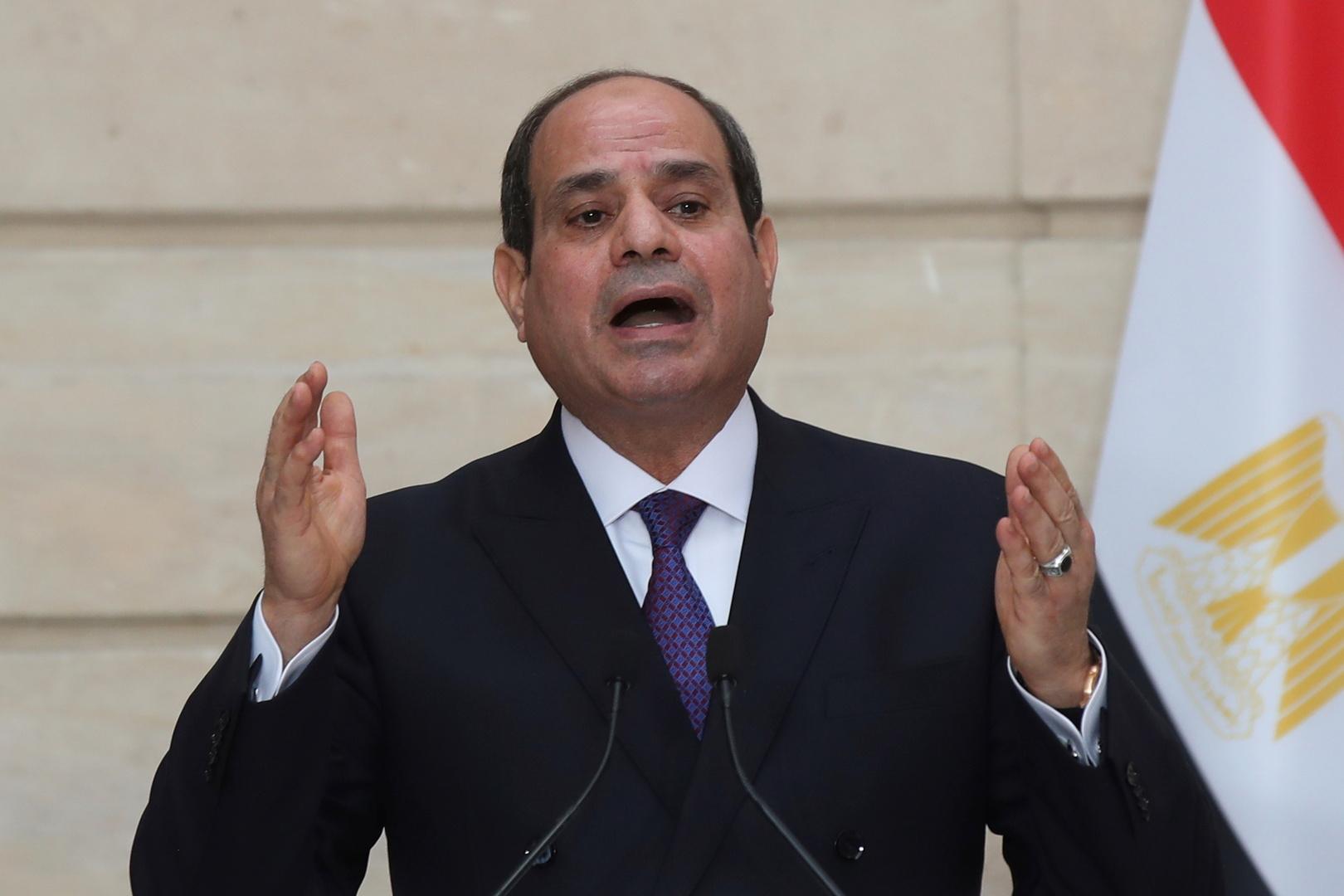 تصريحات جديدة للسيسي بشأن مكافحة الفساد في مصر