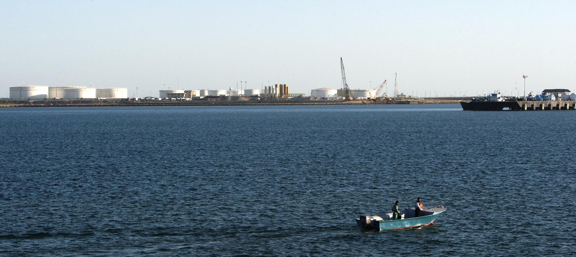 ميناء تشابهار الإيراني.