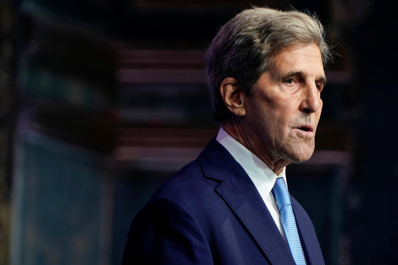 وزير الخارجية الأمريكي الأسبق جون كيري