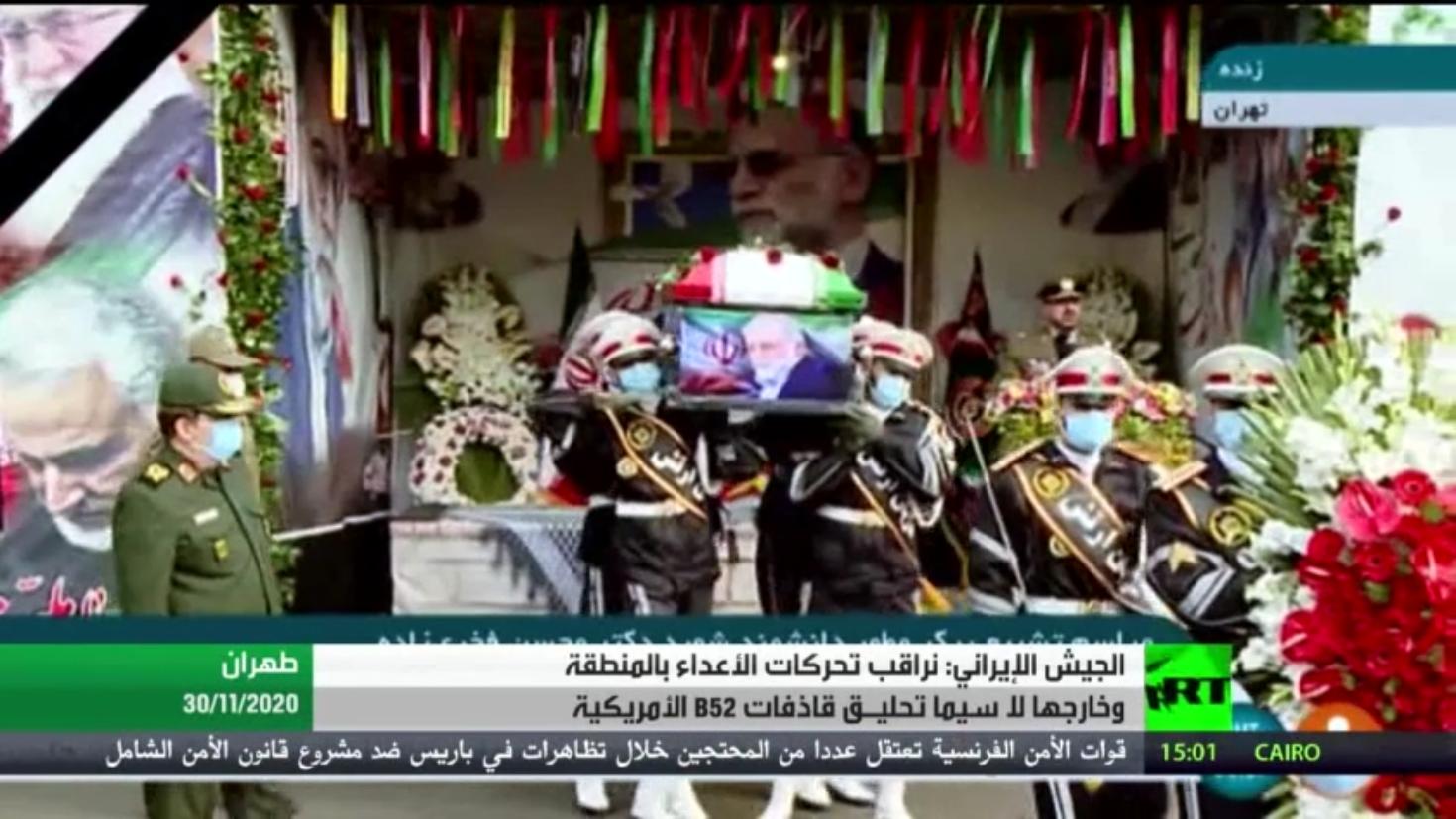 الجيش الإيراني: نرصد كافة تحركات الأعداء