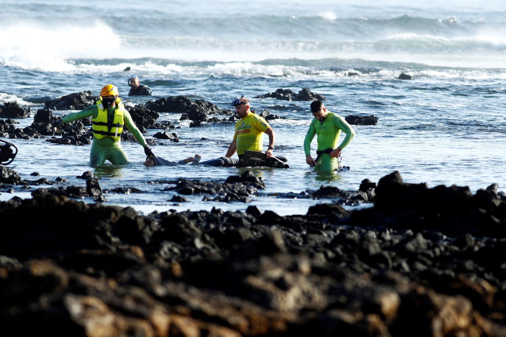 غرق المهاجرين في البحر