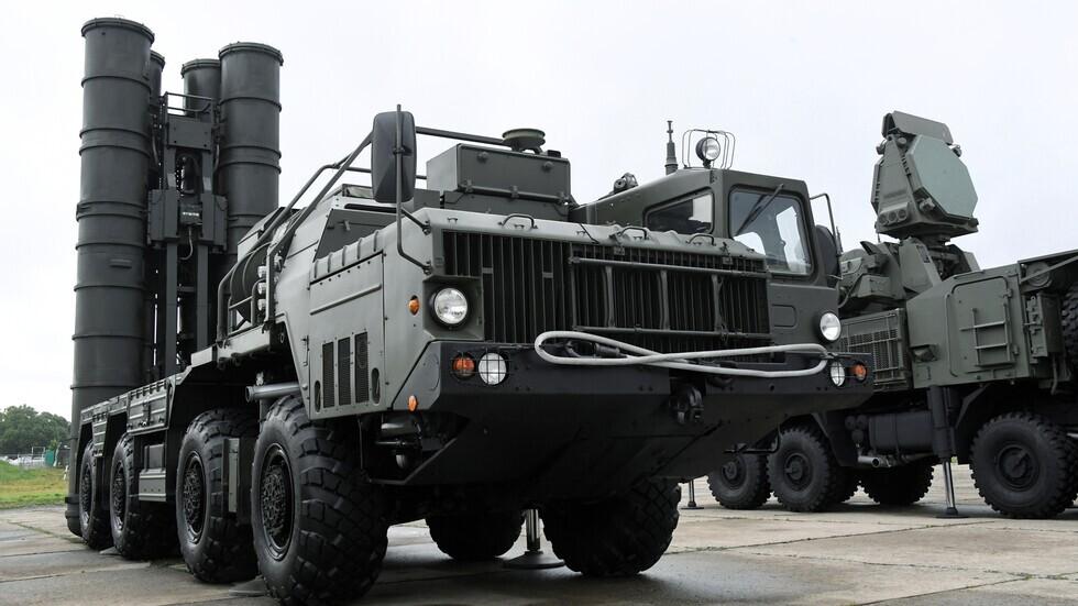 """منظومة الدفاع الصاروخية الروسية """"إس 400"""""""