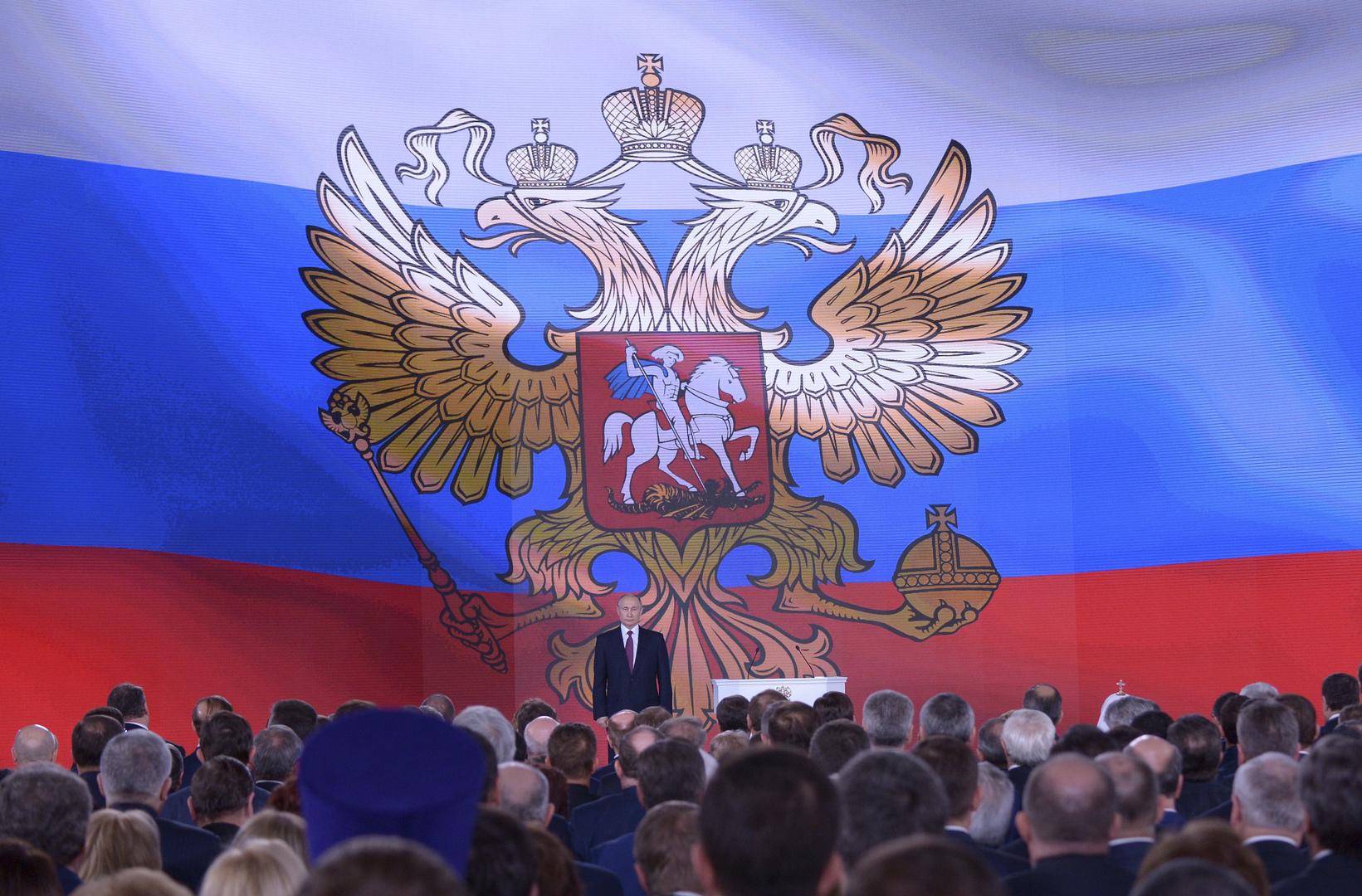 روسيا.. لجنة التشريع الدستوري توافق على مشروع قانون الحصانة للرئيس المنتهية ولايته