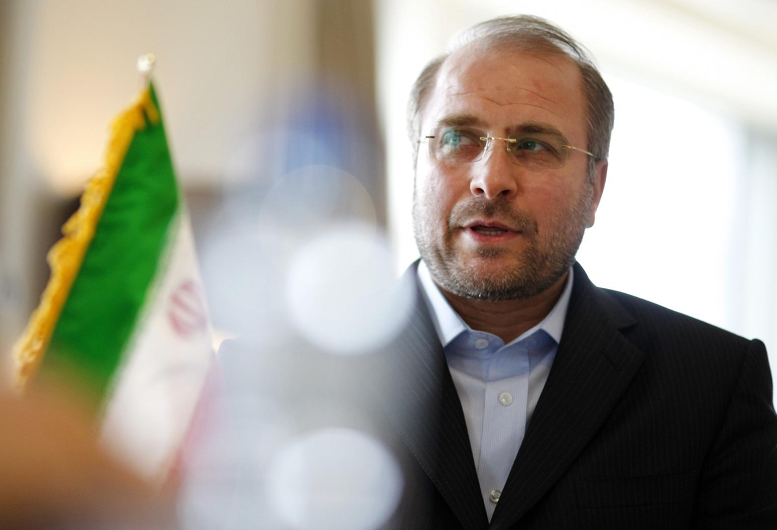 رئيس مجلس النواب الإيراني محمد باقر قاليباف