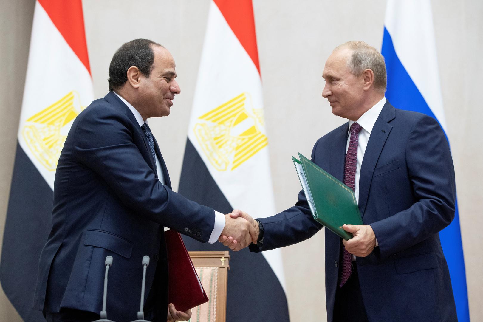 السفارة الروسية ترحب بالمصادقة على اتفاقية التعاون الاستراتيجي بين روسيا ومصر