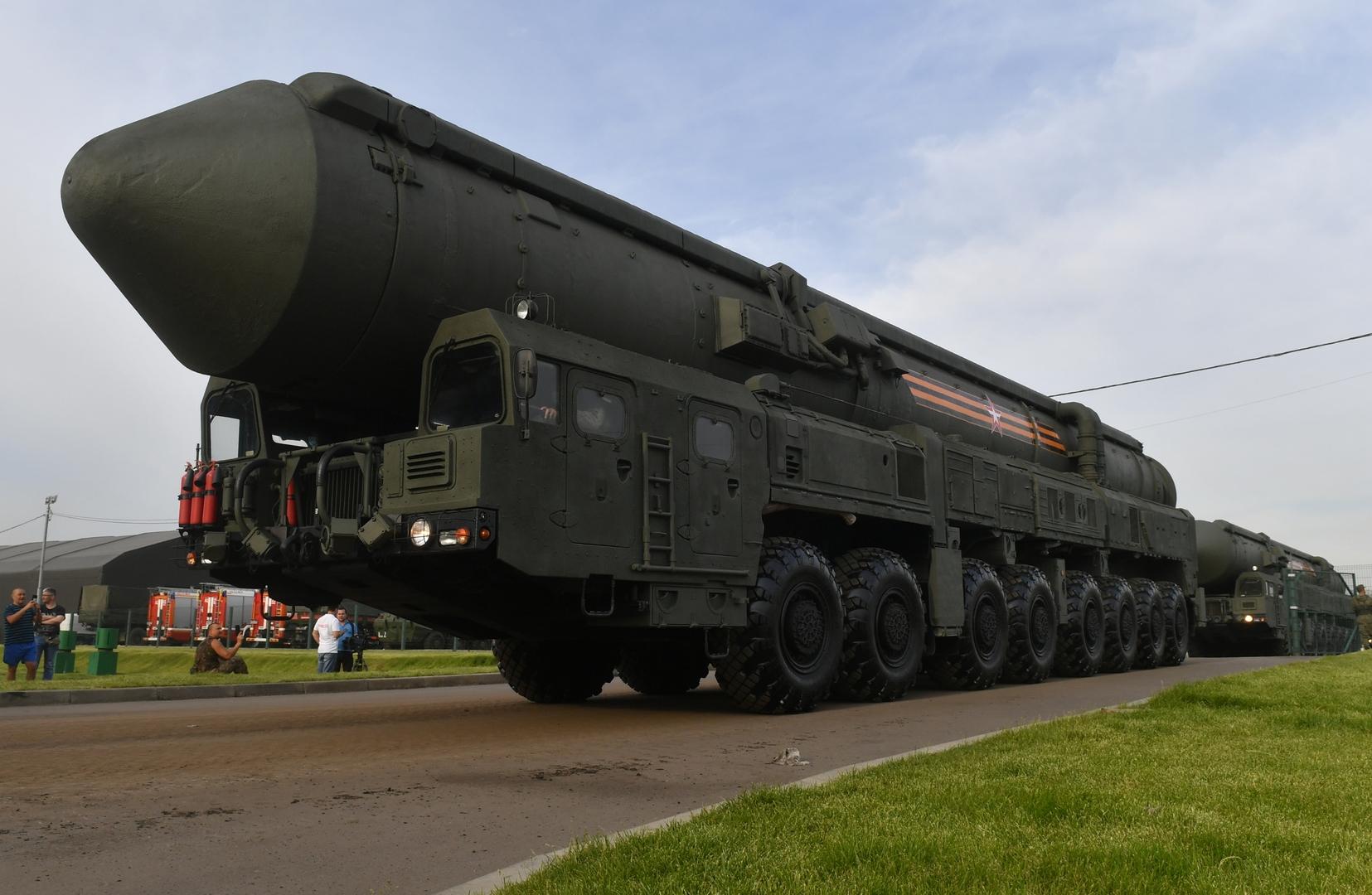 قوات الصواريخ الاستراتيجية الروسية: نحصل على 20 صاروخا جديدا في السنة