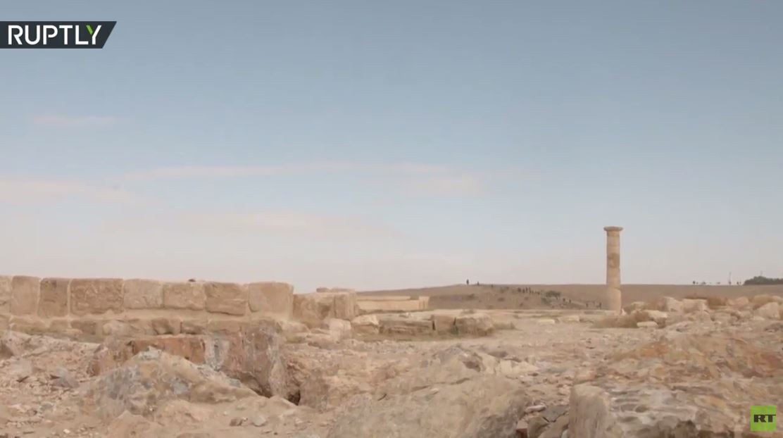 اكتشاف آخر في الأردن.. العثور على غرفة عرش الملك هيرودس