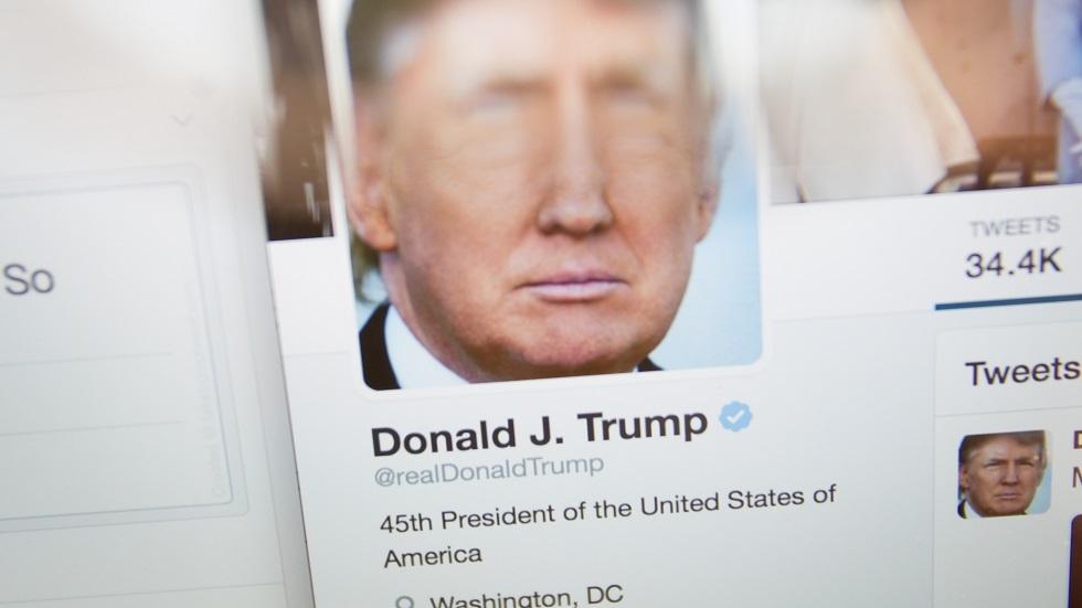 صورة أرشيفية (حساب الرئيس الأمريكي دونالد ترامب على موقع