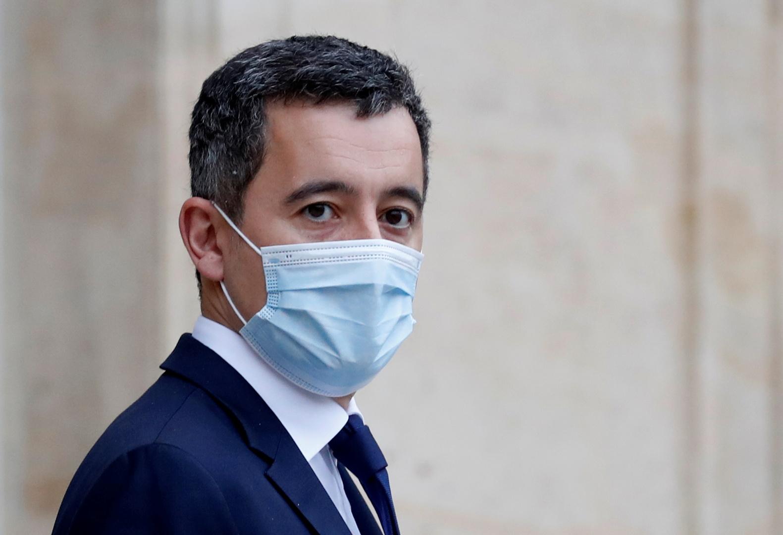 وزير الداخلية الفرنسية جيرالد دارمانين