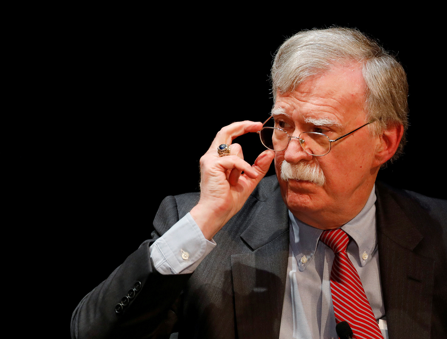 مستشار الأمن القومي الأمريكي السابق  جون بولتون