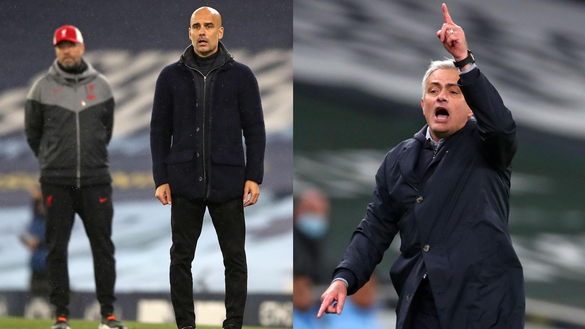 مورينيو يوجه سهامه إلى كلوب وغوارديولا بعد الهزيمة أمام ليفربول (فيديو)