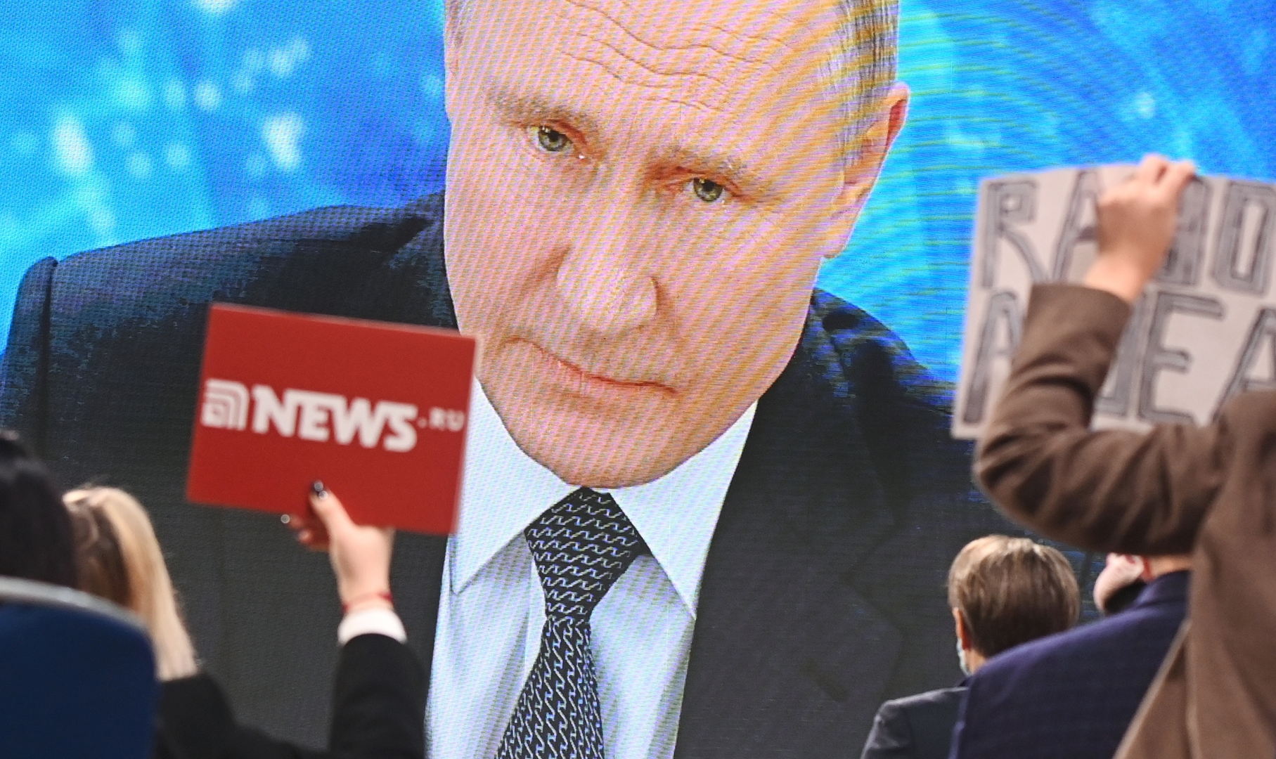 بوتين عن إمكانية ترشحه عام 2024: الشعب فوضني لكن القرار لم يتخذ بعد