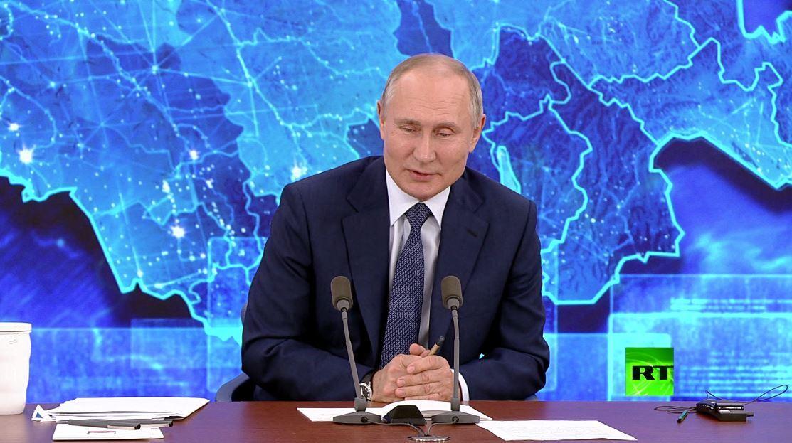 بوتين يكشف فهمه سر السعادة العائلية