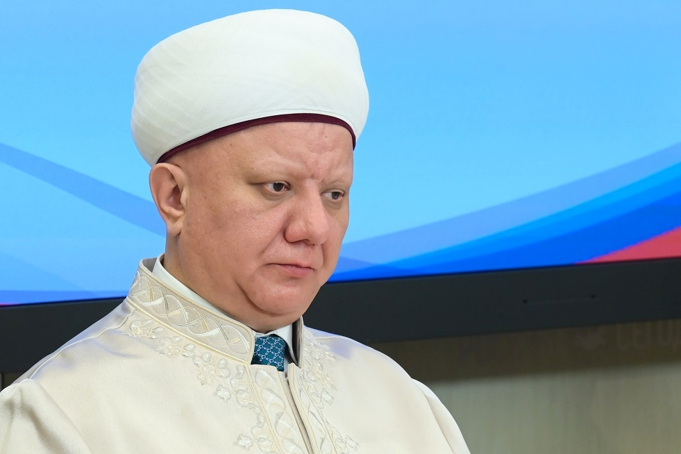 رئيس الجمعية الدينية لمسلمي روسيا المفتي ألبير كرغانوف