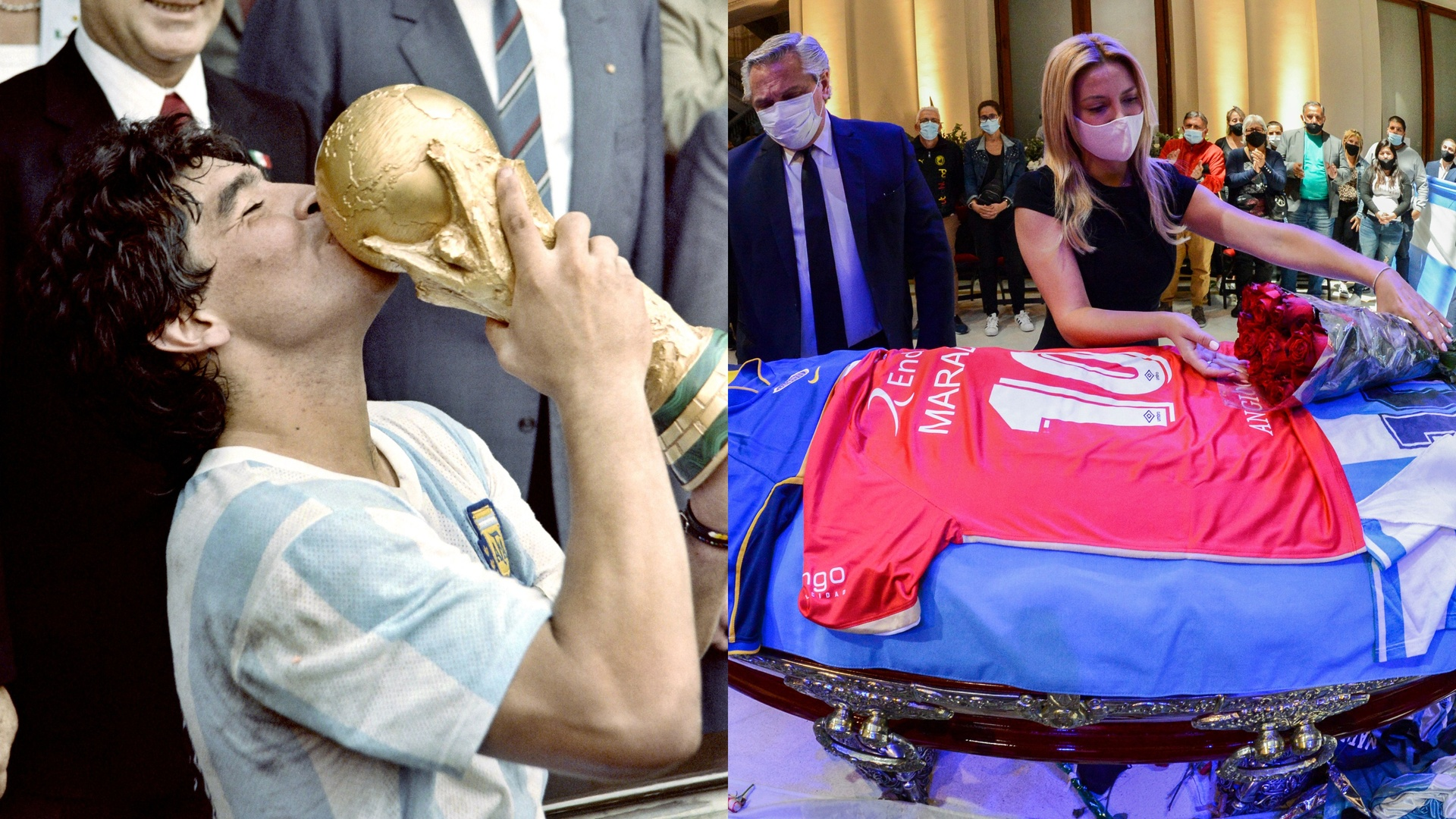 مصير جثمان مارادونا يثير الجدل بسبب قضايا إثبات النسب!