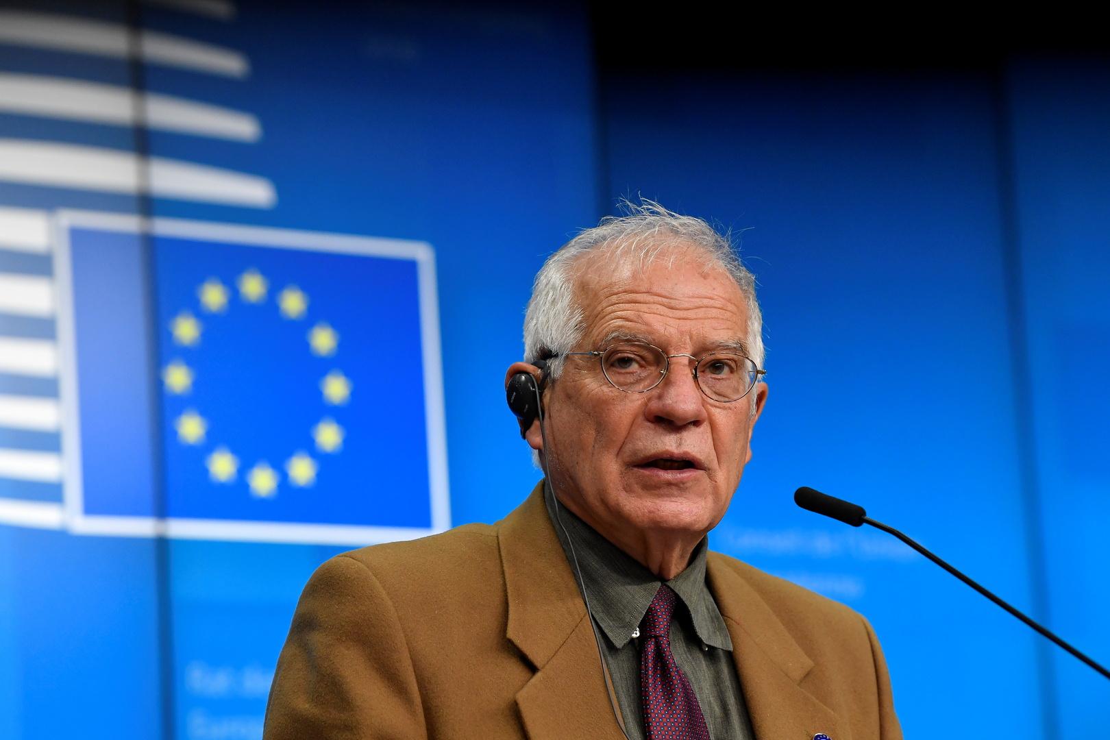 بوريل: خطوات تركيا في ليبيا وسوريا لا تتجاوب مع المصالح الأمنية الأوروبية
