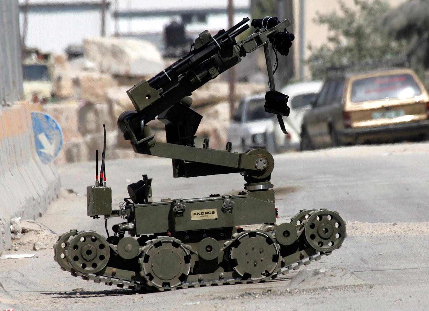 روبوت عسكري إسرائيلي