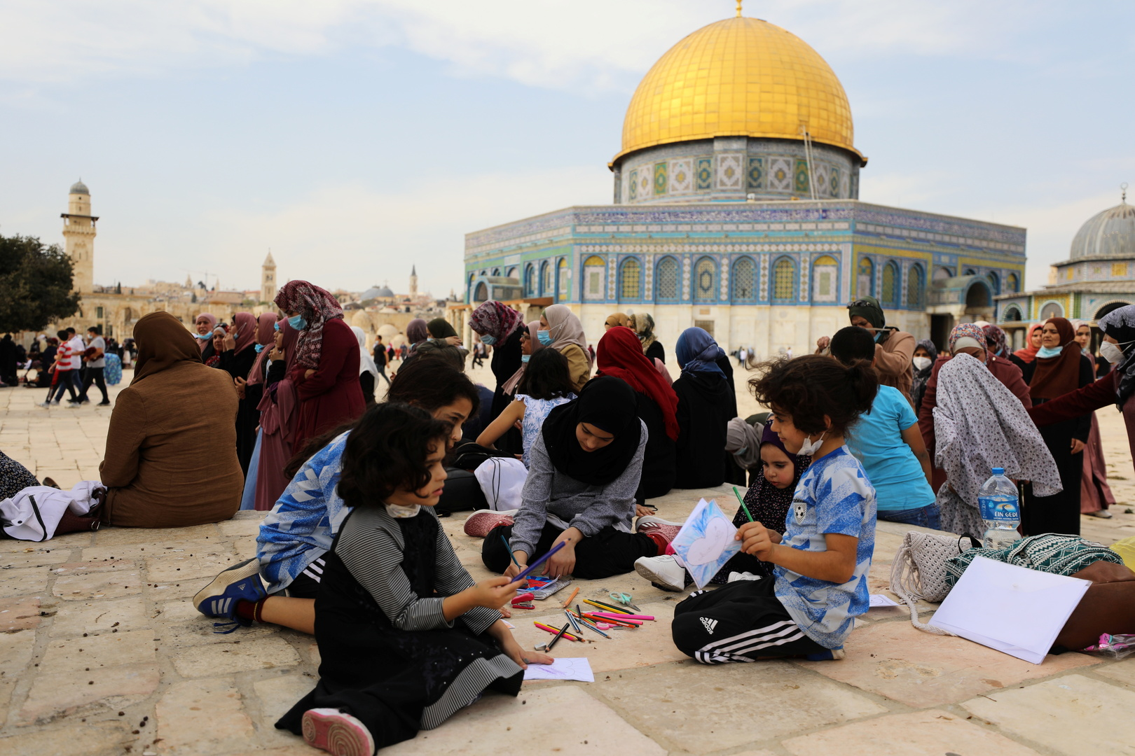Jordan, Egypt and Palestine affirm the centrality of the Palestinian cause and the two-state solution