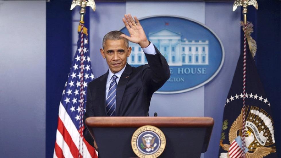 الرئيس الأمريكي السابق باراك أوباما - أرشيف