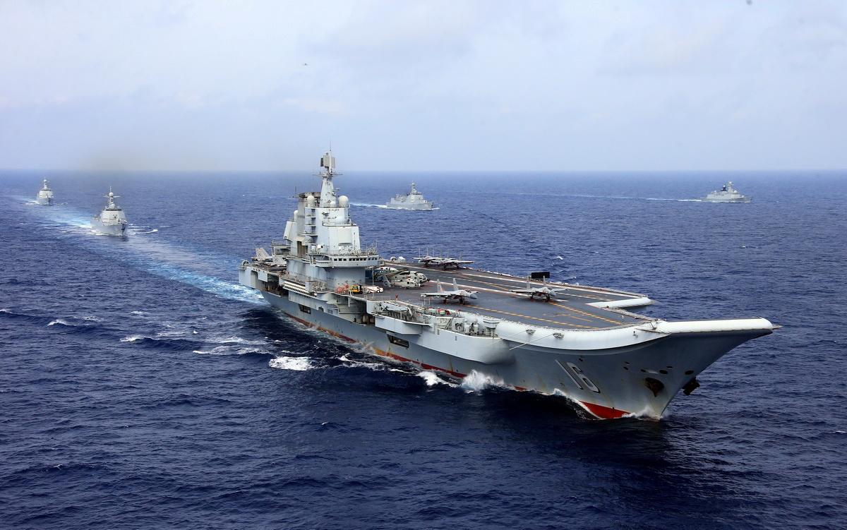 تايوان ترسل قطعا من سلاحي البحرية والجو لمراقبة حاملة طائرات صينية