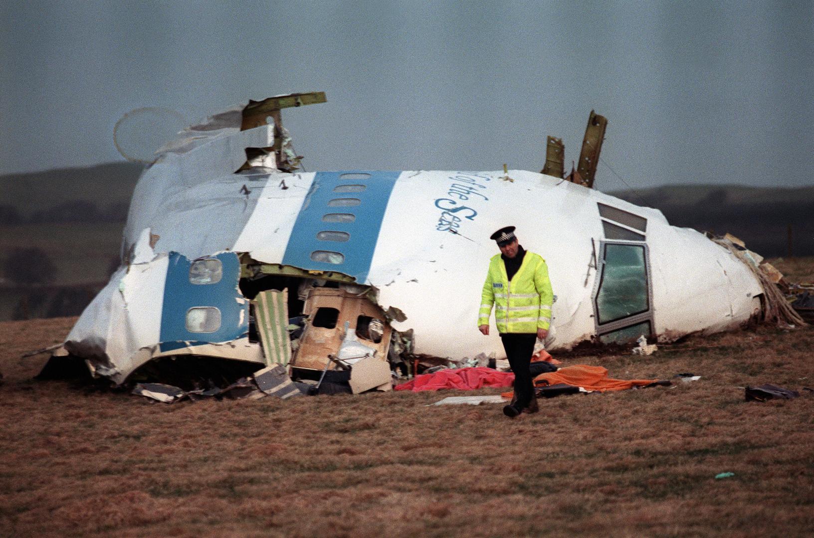 صحيفة بريطانية تتحدث عن مشتبه به جديد في تفجير طائرة لوكربي