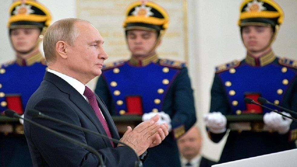 تشكيلة مجلس الدولة الروسية وبوتين رئيسا