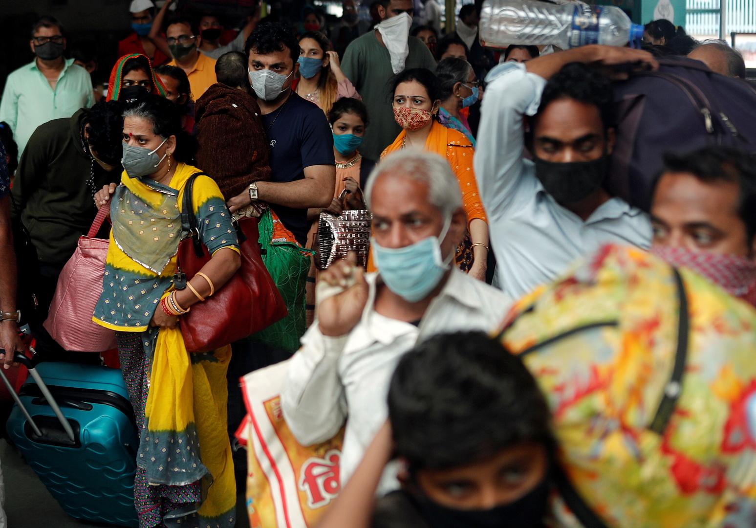 الهند تسجل أقل عدد إصابات يومية بكورونا منذ 6 أشهر
