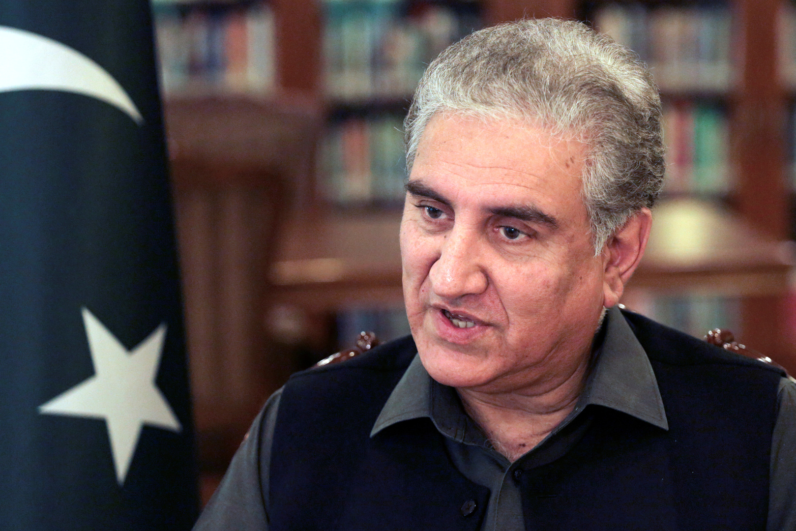 محمود قريشي وزير الخارجية الباكستاني