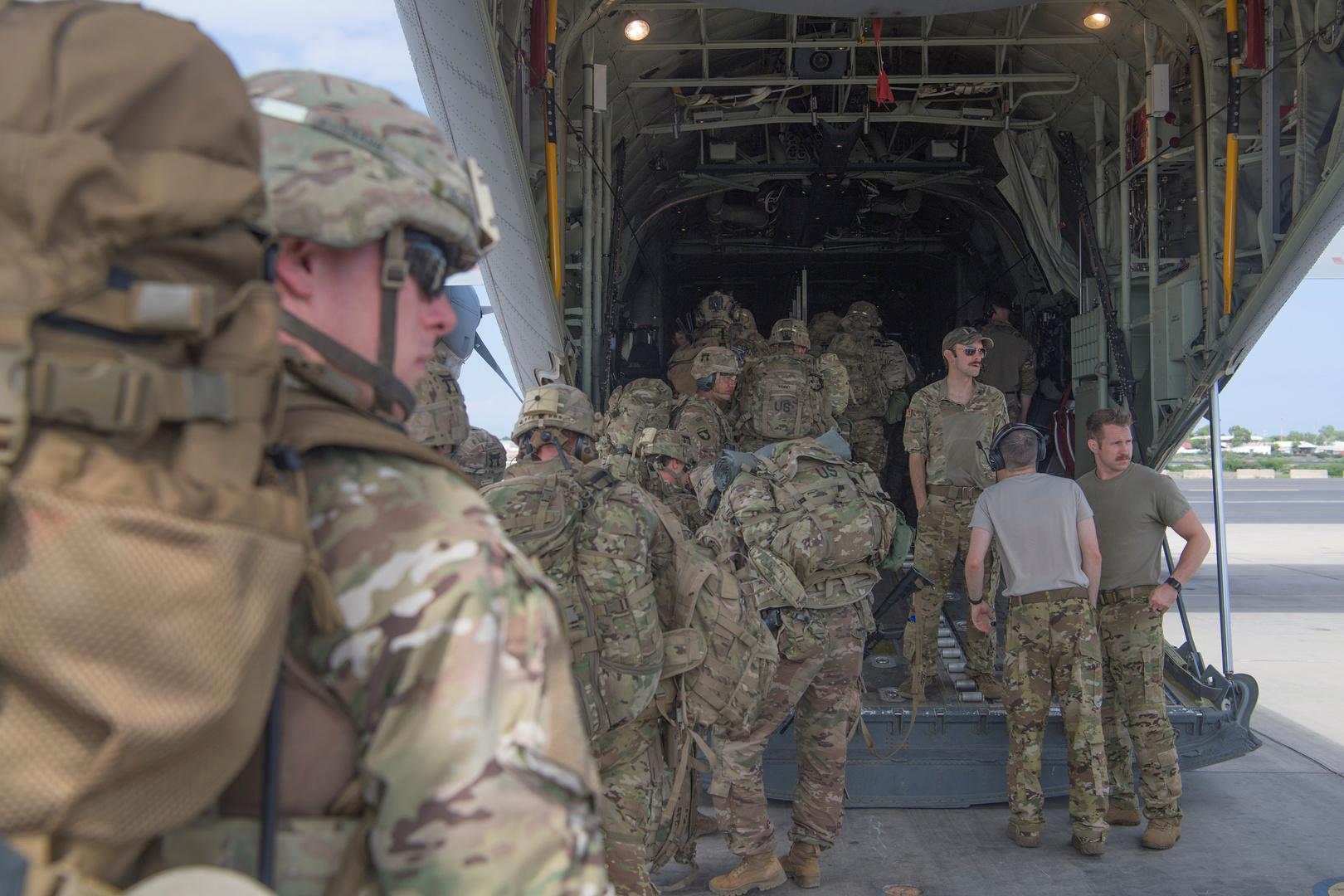 القوات الأمريكية في شرق إفريقيا.