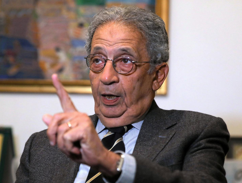 أمين عام جامعة الدول العربية السابق عمرو موسى