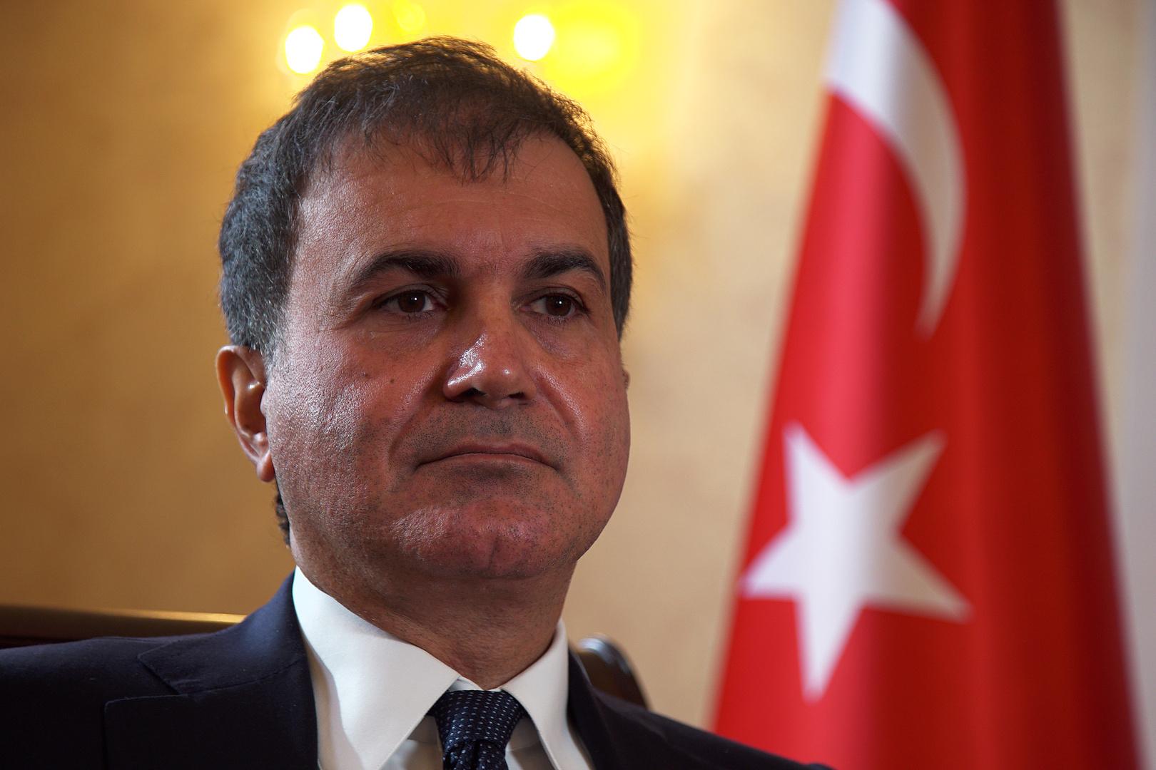 المتحدث باسم حزب العدالة والتنيمة التركي عمر جليك