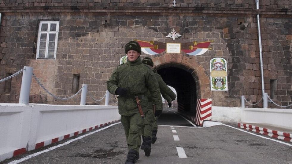 القاعدة العسكرية الروسية في أرمينيا