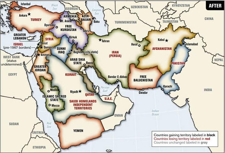 هل حان وقت تغيير حدود الدول العربية؟