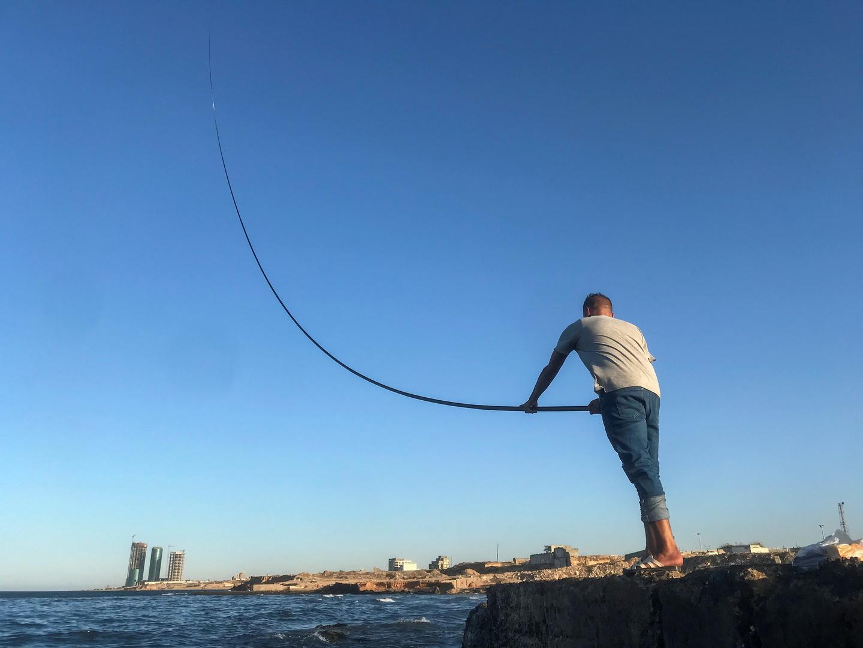 نشر صورة الصيادين المصريين في ليبيا والمفرج عنهم بعد دفع غرامة كبيرة للجيش الليبي