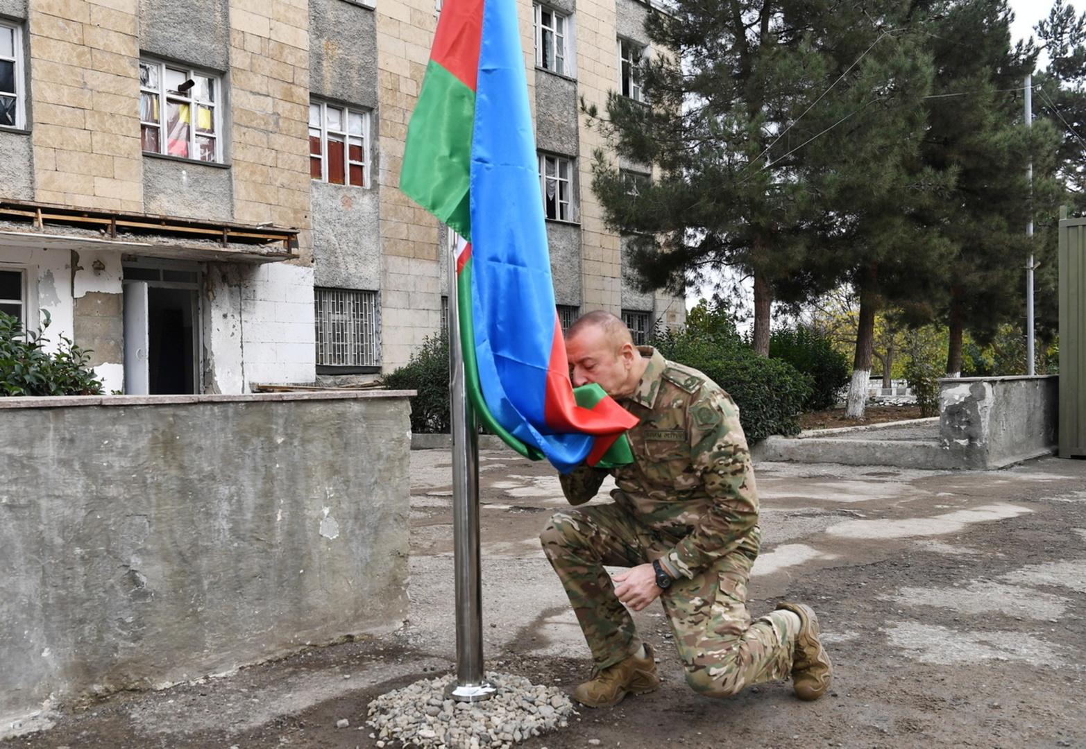 رئيس أذربيجان: بإمكاننا إجراء أي عملية عسكرية في أراضي أرمينيا