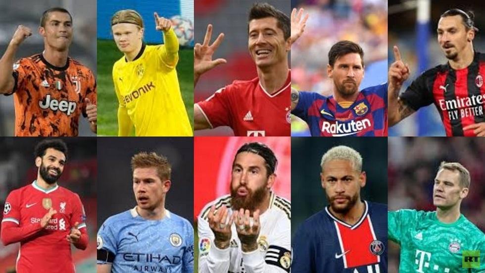صلاح يتراجع في تصنيف أفضل 100 لاعب في العالم (القائمة كاملة)