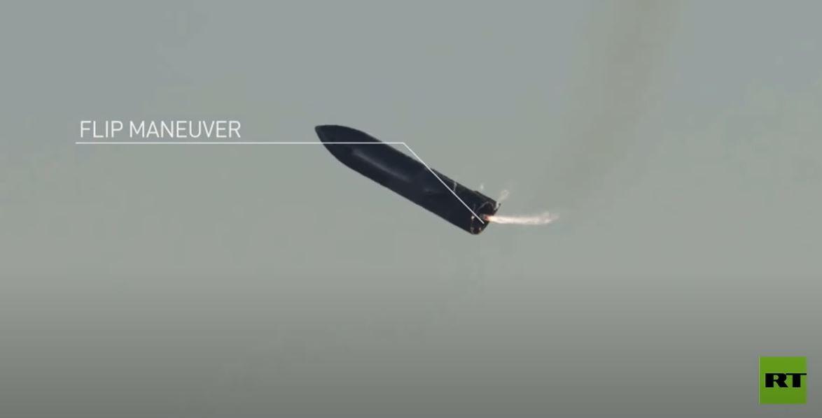 مشاهد جديدة لاختبار فاشل للمركبة الفضائية